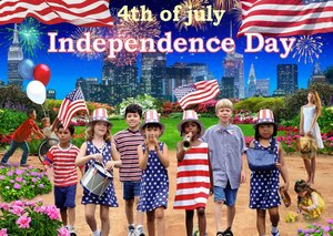Independence Day july 4  fourth of july Declaration of Independence by Radiy Bohem