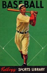 1934 Kellogg Sports Library Baseball Art by Row One Brand