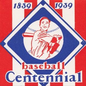 1939 Baseball Centennial Art by Row One Brand
