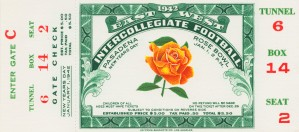 1942 Rose Bowl Oregon State Win by Row One Brand