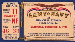 1945 Army Navy Game of the Century by Row One Brand