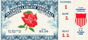 1952 Rose Bowl Illinois Win by Row One Brand