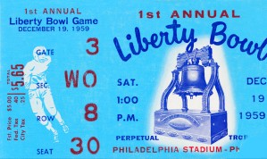 1959 Liberty Bowl Penn State Win by Row One Brand