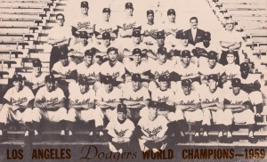1959 Los Angeles Dodgers Team Photo by Row One Brand