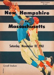 1961 Massachusetts vs. New Hampshire Wildcats by Row One Brand