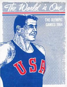 1964 Olympics Art by Row One Brand