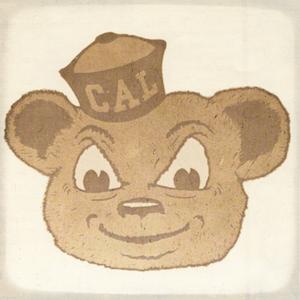 1966 Cal Bear Art | Row 1 by Row One Brand