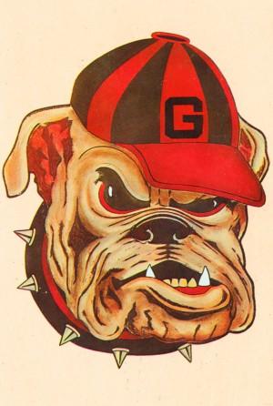 1966 Georgia Bulldog by Row One Brand