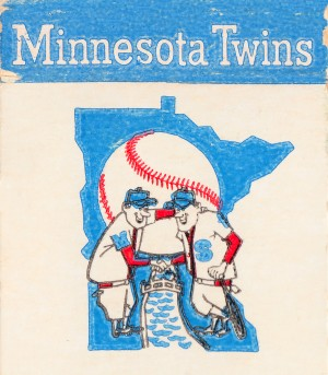 1967 Minnesota Twins Art by Row One Brand