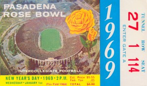 1969 Rose Bowl Ohio State Win by Row One Brand