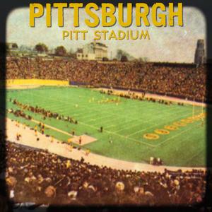 Vintage Pitt Stadium Viewfinder Wall Art by Row One Brand