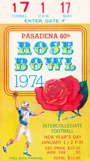 1974 Rose Bowl Ohio State Win by Row One Brand