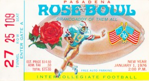1976 Rose Bowl  by Row One Brand