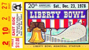 1978 Liberty Bowl Missouri Win by Row One Brand