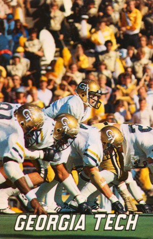 1979 Georgia Tech Football Art by Row One Brand