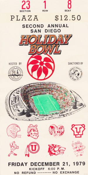 1979 Holiday Bowl Indiana Win by Row One Brand