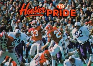 1979 Indiana Hoosiers Football Art by Row One Brand
