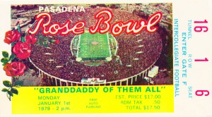 1979 Rose Bowl USC Win by Row One Brand