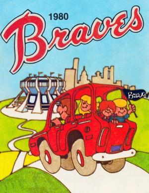 1980 Atlanta Braves Poster by Row One Brand