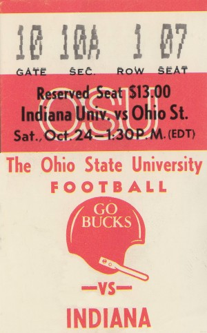 1981 Ohio State vs. Indiana by Row One Brand