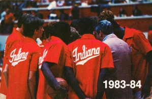 1983 Indiana Basketball Art by Row One Brand