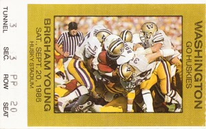 1986 Washington vs. BYU by Row One Brand