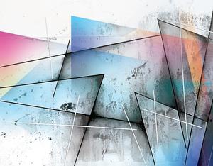 ABSTRACT ART BRITTO QB301A by SIDINEI BRITO