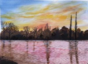 sunrise by Shankar Kashyap