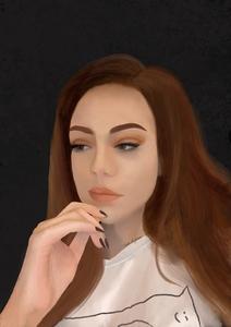 self portrait by Tasha M Leykamm