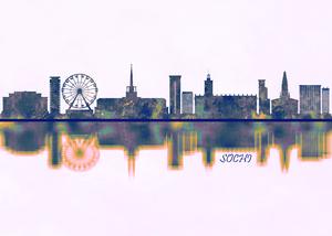 Sochi Skyline by Towseef Dar