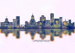 Springfield Skyline by Towseef Dar