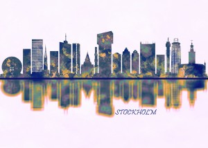 Stockholm Skyline by Towseef Dar