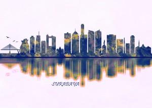 Surabaya Skyline by Towseef Dar