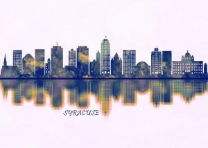 Syracuse Skyline by Towseef Dar