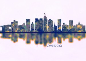 Syracuse USA Skyline by Towseef Dar