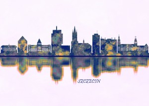 Szczecin Skyline by Towseef Dar