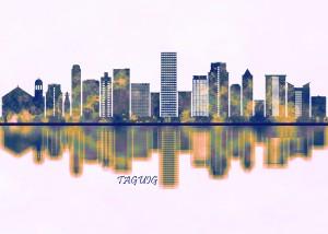 Taguig Skyline by Towseef Dar