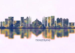 Tangerang Skyline by Towseef Dar
