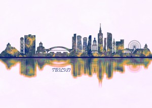 Tbilisi Skyline by Towseef Dar