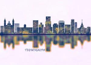 Tegucigalpa Skyline by Towseef Dar