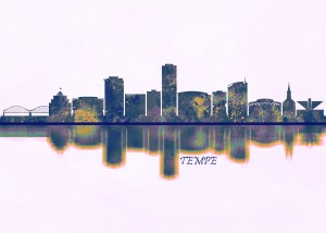 Tempe Skyline by Towseef Dar