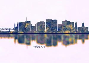 Topeka Skyline by Towseef Dar