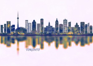 Toronto Canada Skyline by Towseef Dar