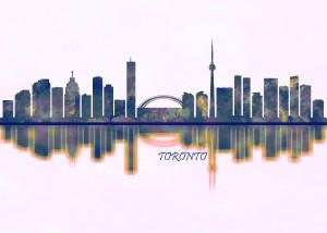 Toronto Skyline by Towseef Dar