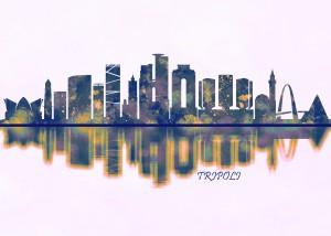 Tripoli Skyline by Towseef Dar