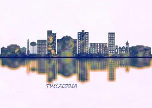 Tuscaloosa Skyline by Towseef Dar