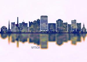 Utica Skyline by Towseef Dar