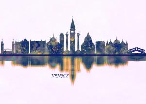 Venice Skyline by Towseef Dar