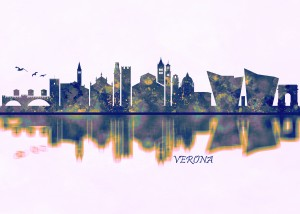 Verona Skyline by Towseef Dar
