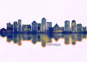 Victoria Skyline by Towseef Dar